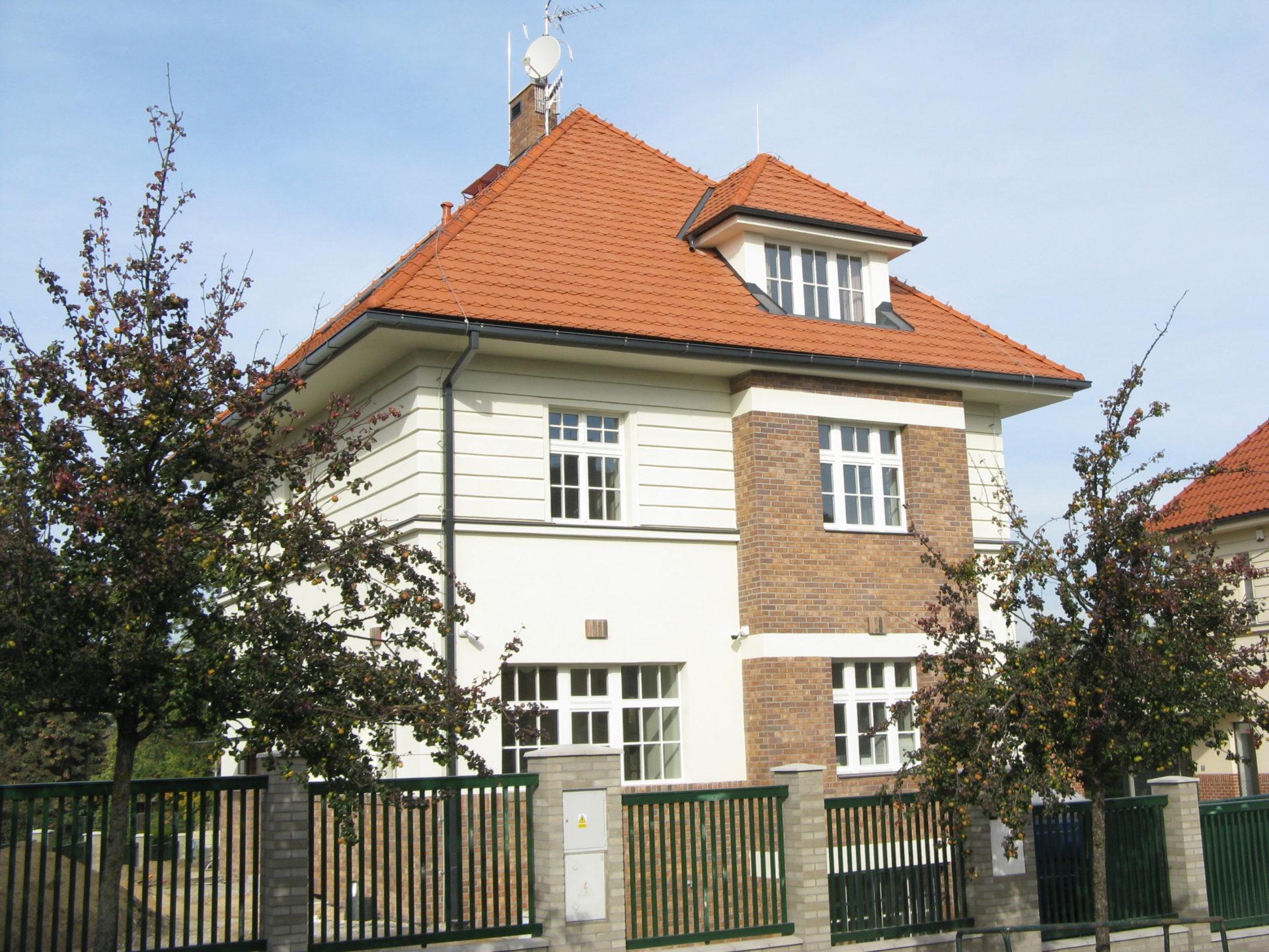 Rekonstrukce Vily Praha 6